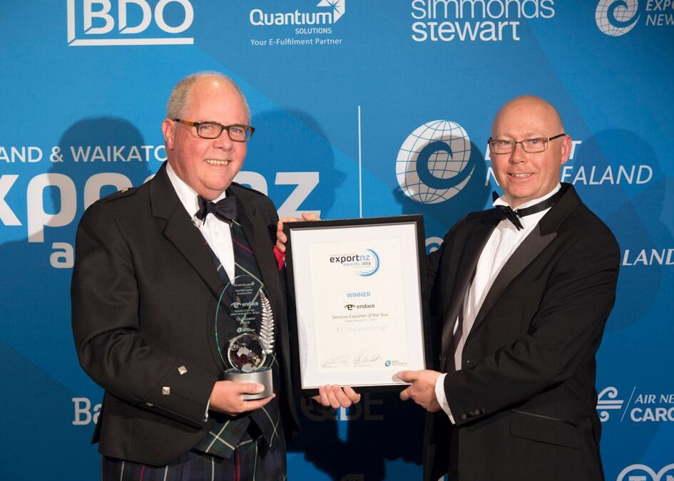 Exportnz Endace Services Exporter of the Year